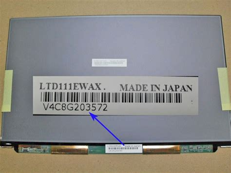 Jual Layar 111 Sony Vaio Vgn Tz 11 1 ltd111ewax lcd screen wxga for sony vaio tz a1599748a 163 359 00 welcome to laptoplcd co