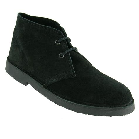 roamers black suede desert boot roamers from caves uk