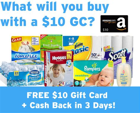How To Get Cashback From Target Gift Card - free 10 amazon gift card with cash back purchase money