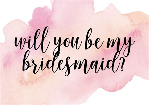 be my in will you be my bridesmaid designs by