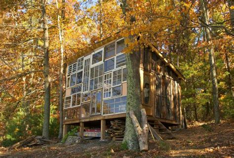 Cabin In West Virginia by A Quit Their And Set To Build A