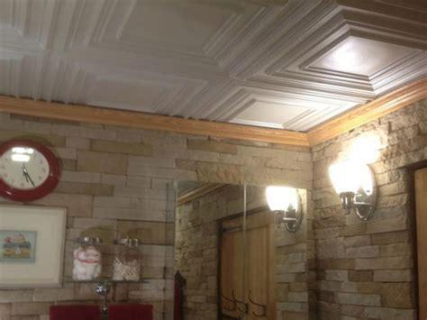 ceiling tiles for bathroom schoolhouse faux tin ceiling tile 222 dct gallery