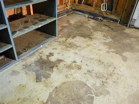 Garage Floor Paint Coverage How To Paint A Garage Floor With Epoxy How Tos Diy