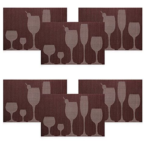 rectangle pvc dining room placemats place mats for table u artlines top quality rectangle pvc dining room placemats