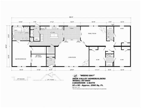 16x80 mobile home floor plans 16x80 mobile home plans house design plans