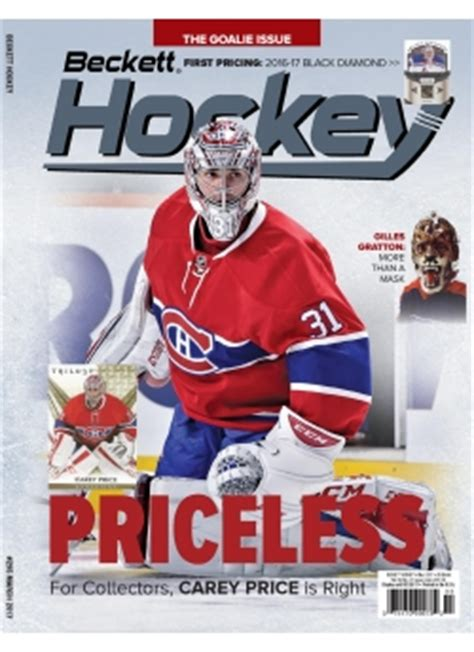 beckett graded card price guide 13 books hockey cards price guide and values print magazine