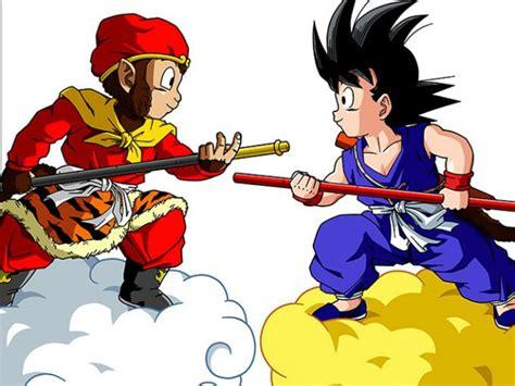 imagenes de goku mono dragon ball y la leyenda de el rey mono gamedots