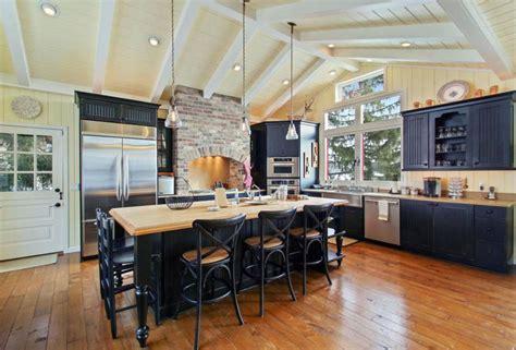 black beadboard kitchen cabinets 25 cottage kitchen ideas design pictures designing idea