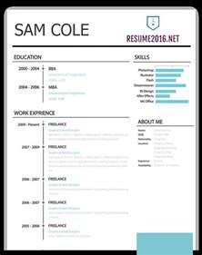 Best Resumes Templates by Best Resume Template 2016 That Wins