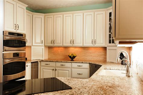 Design For Kitchen Cabinet by Decorating With White Kitchen Cabinets Designwalls