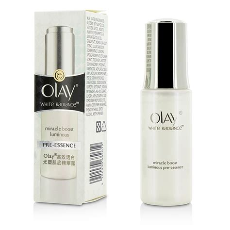Olay White Radiance Whitening olay white radiance miracle boost luminous pre essence fresh