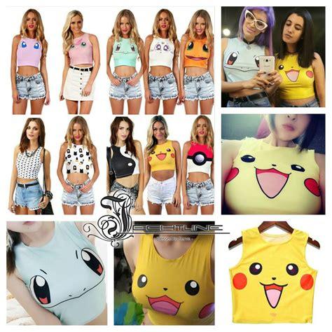 Atasan Crop Top Kaos Crop Top Wanita Gray Basic Summer M Murah jual grosir kaos baju tank top crop pikachu untuk wanita impor chicken