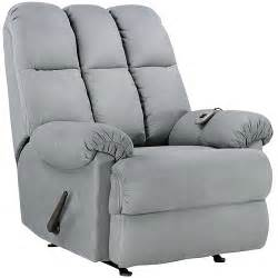 recliner padded rocker rocking chair large accent