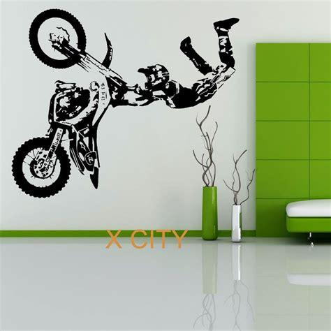 dirt bike wall stickers aliexpress buy stunt bike motorbike x mx wall sticker motocross dirt bike grapic