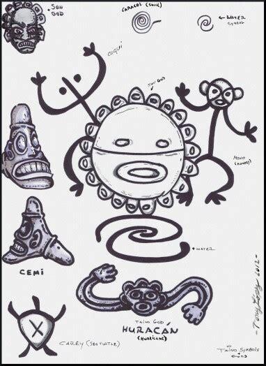 taino tribal tattoo taino symbols taino taino symbols symbols