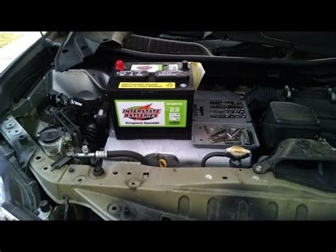 lexus rx350 battery installation by froggy youtube