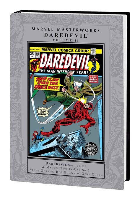 marvel masterworks daredevil vol 12 daredevil vol 11 marvel masterworks fresh comics