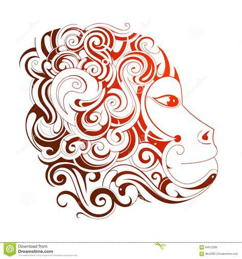 new year monkey birth years new year 2016 monkey horoscope symbol stock vector