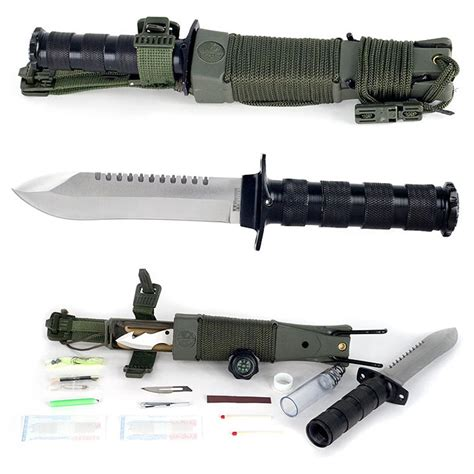 survival knife kits whetstone anchored eagle survival knife kit 423690