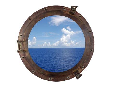 porthole windows for houses buy rustic aluminum porthole window 20 inch nautical home decor