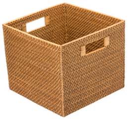 Contemporary Rectangular Chandeliers Square Rattan Utility Basket Contemporary Baskets