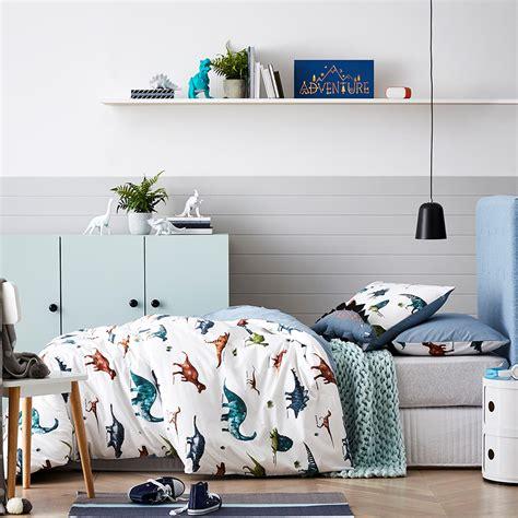Adairs Bedroom Furniture Adairs Eli Osaurus Quilt Cover Set Bedroom Quilt Covers Coverlets Adairs