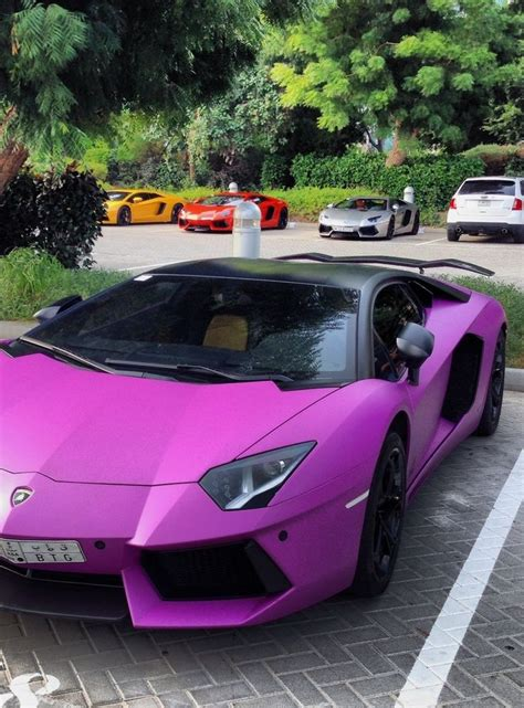 pink luxury cars 288 best lamborghini aventador images on pinterest