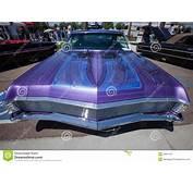 1967 Chevy Impala Custom Pinstripping Editorial