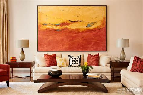 Living Room Gallery Cottbus 后现代客厅装饰画图片大全 土巴兔装修效果图