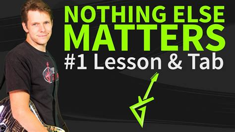 nothing else matters zero thirty how to play nothing else matters on guitar metallica