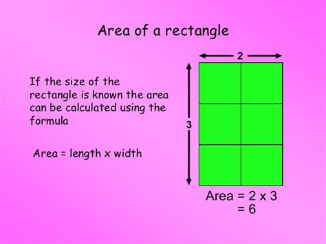 area of a square intro revision of area of rectangles r knowles 2013