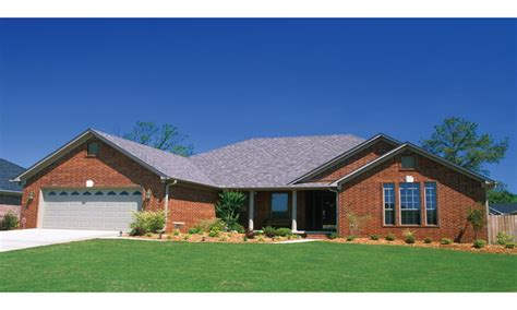 rancher style homes brick home ranch style house plans ranch style homes