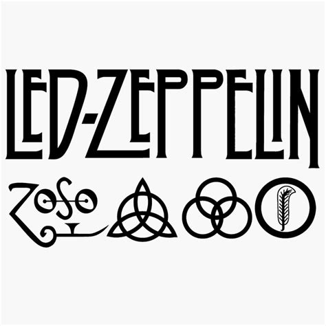 led zeppelin band logo led zeppelin logo led zeppelin symbol meaning history