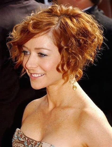 curly a line a line short curly haircuts 2015 2016 for women full dose