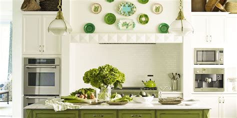 green kitchens ideas  green kitchen design