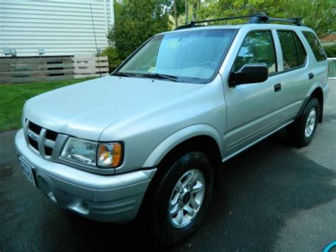 buy used 2004 isuzu rodeo 4x4 low miles 3 5l engine towing package excellent 1 owner in