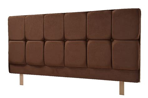 Milan Headboard In Faux Suede Black Brown Or Stone