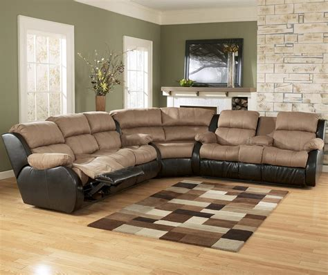 3 Piece Sectional Sofa With Recliner 3 Piece Sectional