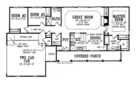ranch farmhouse floor plans elmsberry ranch farmhouse plan 016d 0027 house plans and more