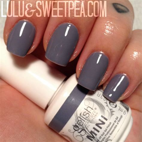 I Hello Color Gray lulu sweet pea gelish fall 2014 quot get color fall quot review