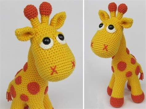 amigurumi pattern giraffe instructions for crocheting a giraffe diy