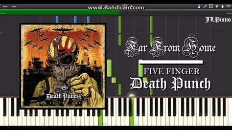 far from home five finger punch synthesia piano