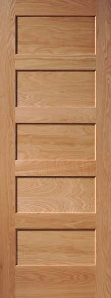 5 Panel Oak Interior Doors Oak Doors Oak Panel Door