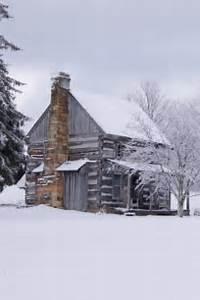 Love This Cabin &amp Winter Scene