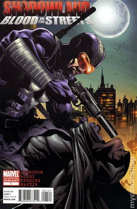 Komik Marvel Shadowland Thunderbolt shadowland blood on the 2010 comic books