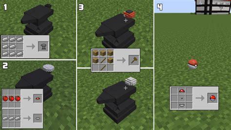 minecraft pixelmon pokeball crafting recipes pixelmon mod 1 10 2 1 8 9 1 7 10 minecraft mods download