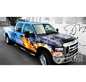JRCC Wanted A Wrap For Their Pickup That Really Stood Out And Spoke