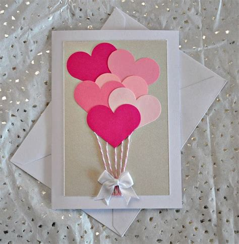 Valentines Day Handmade Card - creative card ideas diy