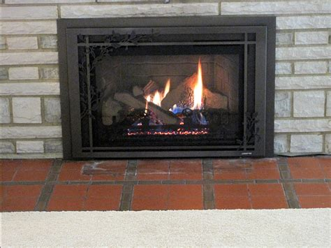Vented Gas Fireplace Inserts by Vented Gas Inserts Fireplace Creations