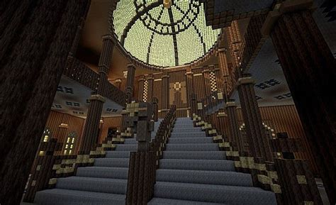 Minecraft Stairs Design Minecraft Titanic Grand Staircase Search Rms Titanic Search Staircases